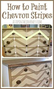 chevron stripes how tobecause its tricky chevron painted furniture