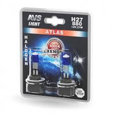 <b>Лампа</b> галогенная <b>AVS ATLAS</b> /5000К/ H27/880 12V.27W (блистер ...
