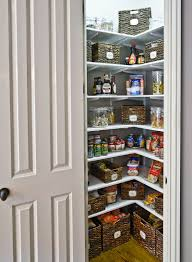 Small Kitchen Pantry Organization Adjustable Pantry Shelving Can Help You Double Space See How This