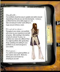 philadelphia university career services creative portfolios fashion oriented portfolio tips page 1