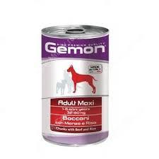 <b>Консерва Gemon Dog</b> Maxi Adult (Кусочки говядины с рисом ...