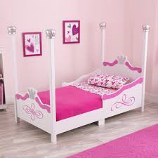 toddler bed with canopy girls amazing white kids poster bedroom furniture