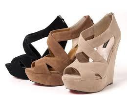 Resultado de imaxes para imagenes zapatos con cuñas