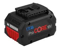 <b>Аккумулятор Bosch Li-ion ProCORE</b> 18V 8.0 Ач 1600A016GK в ...