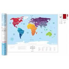 ROZETKA | Скретч-<b>карта</b> мира <b>1DEA</b>.<b>me Travel Map</b> Silver (SW ...