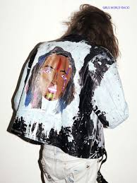 outsapop trashion diy fashion by outi pyy can you paint leather furniture