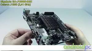 Unboxing <b>Gigabyte GA</b>-<b>J1800N</b>-<b>D2H</b> con SOC Intel J1800 Dual Core