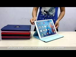 <b>360 Degree Rotation</b> Case Review for <b>iPad</b> Pro - YouTube