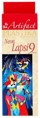Полимерная глина <b>Artifact LAPSI</b> NEON 9 флуоресцентных ...