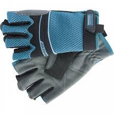 <b>Перчатки комбинированные</b> облегченные, открытые пальцы ...
