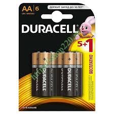 Купить <b>Батарейка</b> AA <b>Duracell LR6</b> BASIC <b>MN1500</b> (упаковка 6 шт ...
