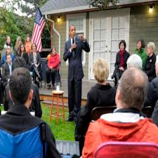 He Even Brought Doughnuts: Obama Campaigns in Seattle