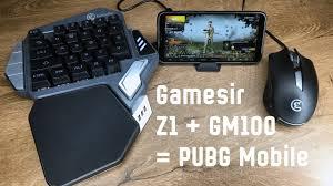 Мышь и клавиатура для PUBG <b>mobile</b> - GameSir Z1 и GM100 ...