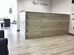 hand crafted custom reception desk by kala studios custommade com home decorators outlet home modern office reception desk