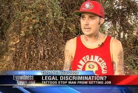"confused"" man can  t get job blames terrible neck tattoos  vocativ tattoo discrimination 002"