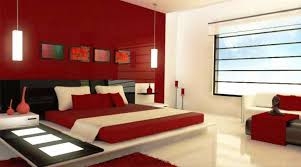 red wall paint black bed: bedroomwonderful red paint color for bedroom decor with comfortable red bedsheet and modern white