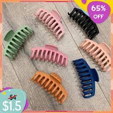 Claws Clips <b>Hair</b>-Pins <b>Hair</b>-Styling-Accessories <b>Acrylic</b> Solid-<b>Hair</b> ...