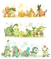 Image result for all pokemon starters