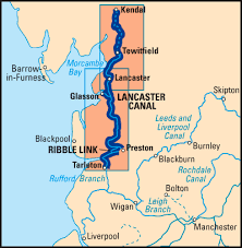 Image result for ribble link on map