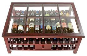 wine barrel wine rack furniture image of glass countertop wine rack table arched napa valley wine barrel table