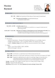 francais curriculum vitae template socceryourself com cv francais by niusheng11 xy8n2aqi