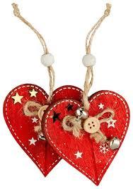 Набор <b>елочных</b> игрушек ErichKrause <b>Сердце 7</b> см (47750 ...