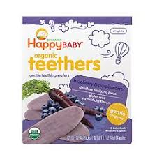 <b>Happy Baby</b>: Teething Wafers (BEST BUY)