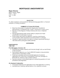 real estate underwriter resume underwriter resume sample job and resume template underwriter resume sample job and resume template · real estate