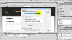 how to make a website in dreamweaver amazing tutorial