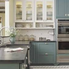 painted blue kitchen cabinets house: will absolutely have these painted blue kitchen cabinets in our new house mixed in w