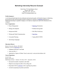 example marketing resume resume examples marketing objectives example marketing resume resume for internship getessayz resume example marketing for