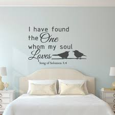 wall decal family art bedroom decor love wall decal quote song of solomon  bible verse scripture wall decal family wall art bedroom living room wedding gift home decor q