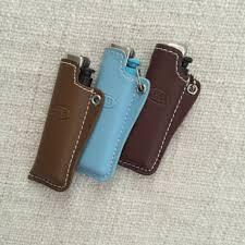 Top Stitched Genuine Leather Lighter <b>Cover</b> Case   Кожа поделки ...