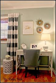 share it thursday from link party 32 made from pinterest charming small guest room office ideas