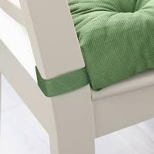 Купить МАЛИНДА <b>Подушка на стул</b>, <b>зеленый</b>, 40/35x38x7 см по ...