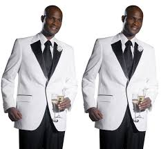 <b>2018</b> New Arrival <b>White Groom Tuxedos</b> Cheap Black Notch Lapel ...