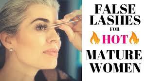 FALSE LASHES FOR <b>HOT MATURE WOMEN</b> | Nikol Johnson ...