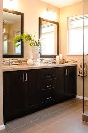 decoration dark gray bathroom  ideas about dark cabinets bathroom on pinterest bathroom mosaic tiles