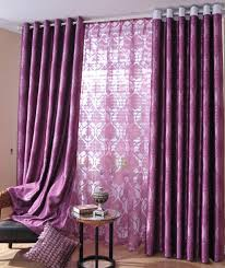 Purple Living Room Curtains Adorable Pink And Purple Blue Living Room With Purple Curtains For