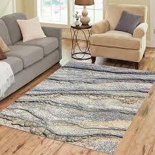 Rock design area rug <b>abstract</b> gray <b>stone pattern Modern</b> gray | Etsy