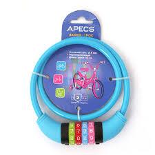 Велосипедный <b>замок Apecs PD-85-65CM-CODE-BLUE</b> (кодовый ...