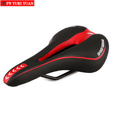<b>Shock Absorbing Hollow Bicycle</b> Saddle MTB Road Bike Cycling ...