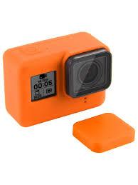 <b>Чехол</b> силиконовый для экшн <b>камеры GoPro</b> 7 / <b>GoPro</b> 6 / <b>GoPro</b> 5 ...