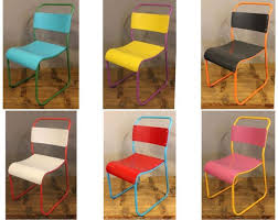 funky colour stacking chairs introducing these bright bright coloured furniture