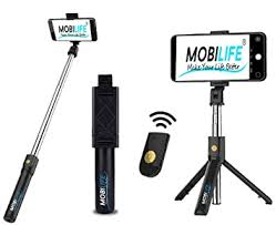 Hoteon Mobilife <b>Bluetooth</b> Extendable <b>Selfie Stick</b> with: Amazon.in ...