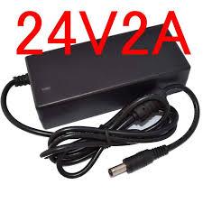 Online Shop <b>1PCS High quality</b> 24V 2A AC / DC Adapter For ...
