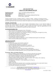 doc 12751650 cover letter systems administrator resume examples now
