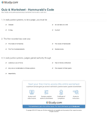 hammurabi s code worksheet info print hammurabi s code the advent of law prerequisites and implications worksheet