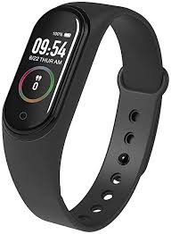 <b>M4 Smart band</b> 4 <b>Fitness</b> Tracker Watch Sport Bracelet: Amazon.co ...