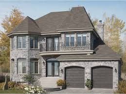 Second Empire House Plans at Dream Home Source   European Second    DHSW